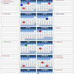 2014 Year Calendar with Side Note (Excel)