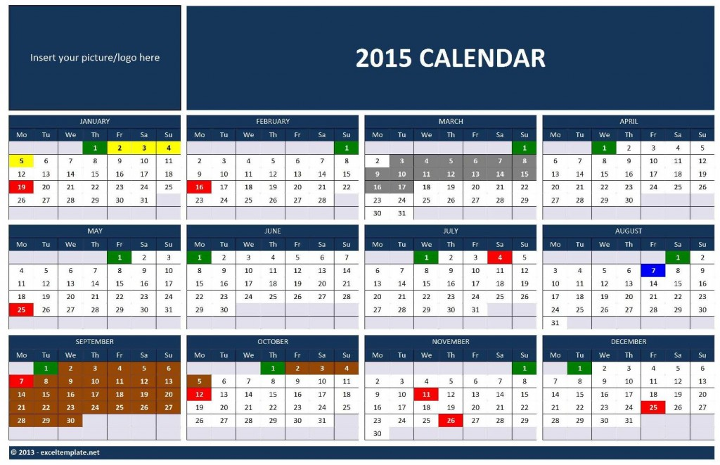 Search results for yearly calendar template 2015 for Ms office calendar template 2015