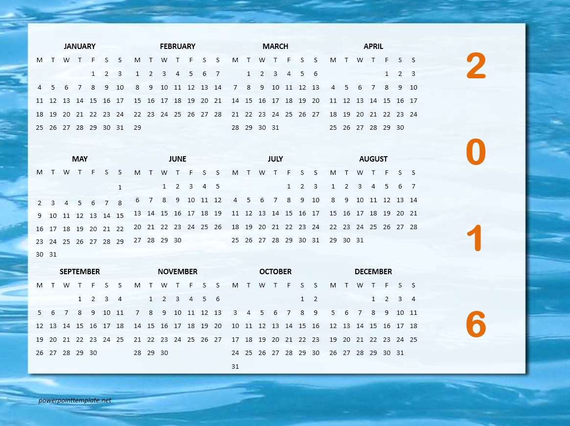 Office Calendar 2016 : Calendar templates microsoft and open office