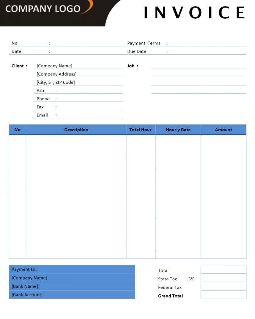 microsoft office billing invoice templates download free