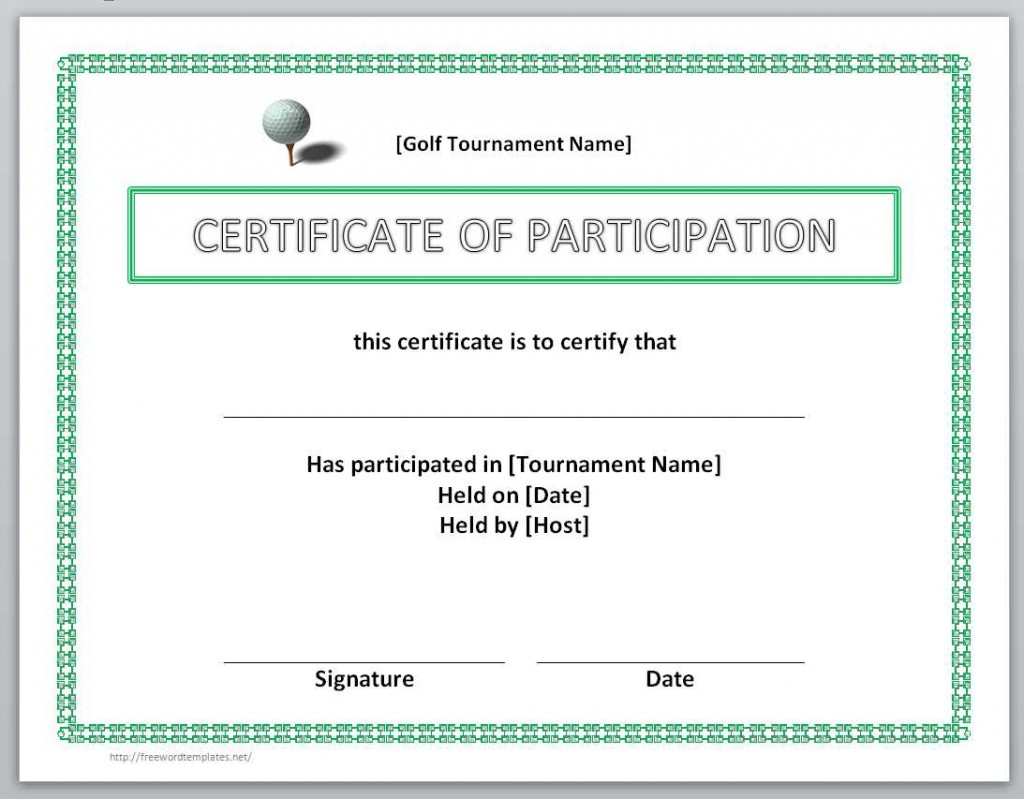 Golf certificate template aradio golf certificate template 1betcityfo Choice Image