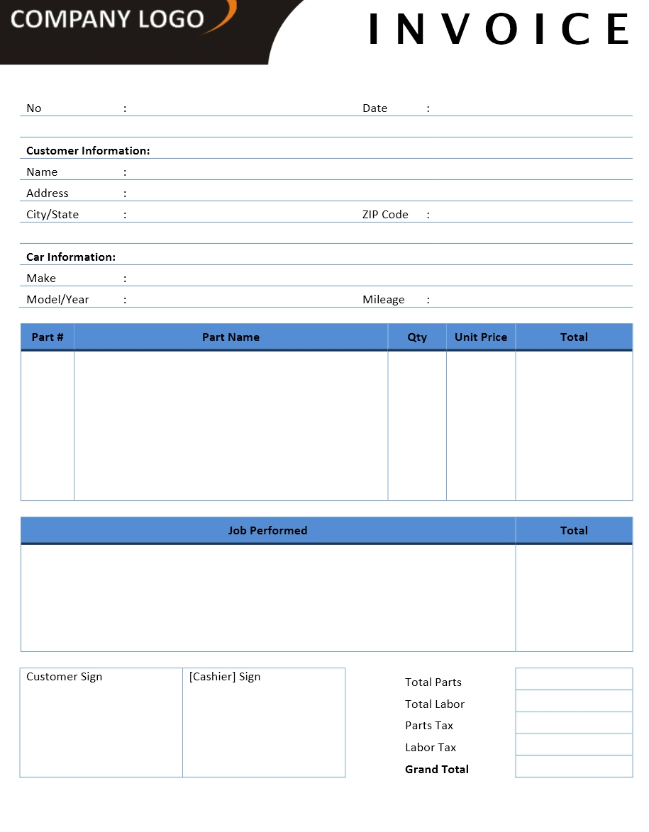 invoice templates microsoft and open office templates