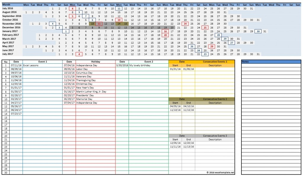 2016-2017 School Calendar 3